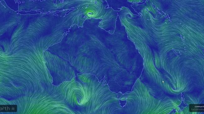 Cyclone Marcus is forming off the northern coast of Australia.
