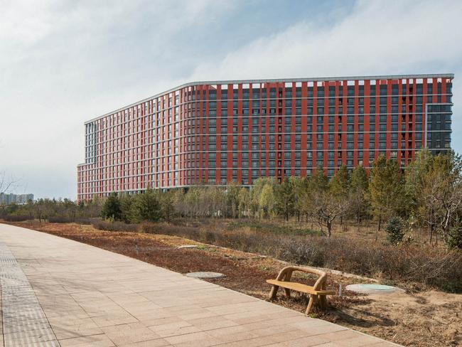 The streets of Ordos contrast sharply with other busier Chinese cities. Picture: Raphael Olivier