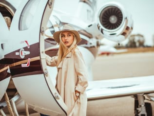 Private jets aren't all they're cracked up to be, according to this heiress. Image: Getty