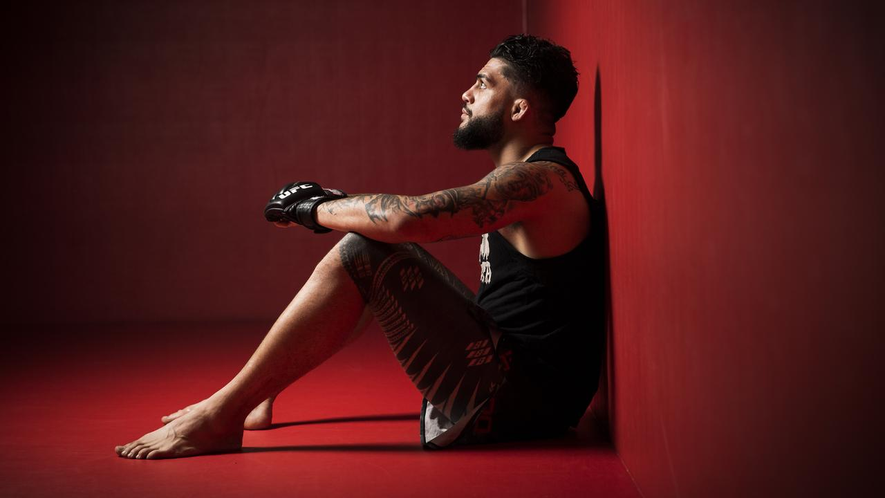 Tyson Pedro, one of Australia's rising UFC stars. (Picture: Dylan Robinson).