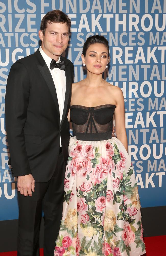 Mila Kunis regrets not letting Ashton Kutcher travel to space. Picture: Getty Images