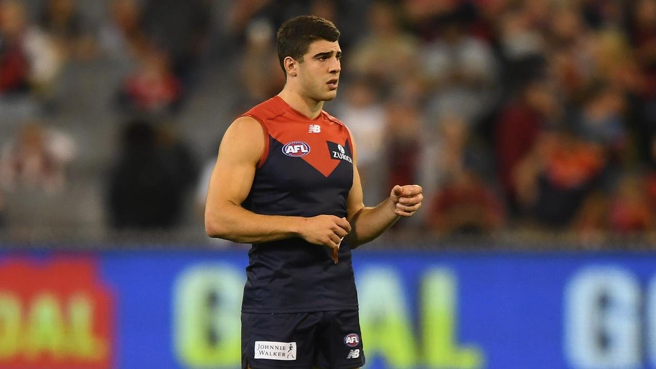 Christian Petracca has struggled in 2019. Photo: Julian Smith/AAP Image.