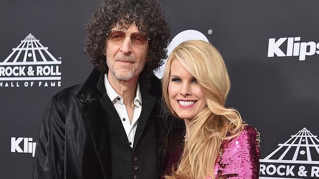 Howard Stern and Beth Ostrosky Stern in 2018. Picture: Theo Wargo/Getty Images For The Rock and Roll Hall of Fame