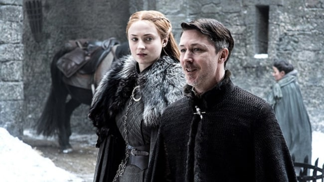 Sansa now has one less mansplainer hanging around trying to manipulate her. Image: HBO