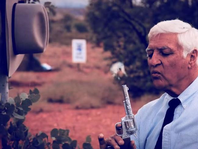 Member for Kennedy Bob Katter has defended his campaign video.