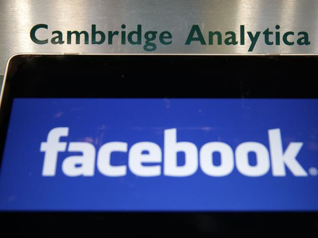 The Cambridge Analytica scandal showed how some data can be used. Picture: Daniel LEAL-Olivas/AFP