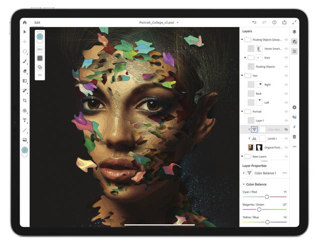 Adobe's full Photoshop platform for the iPad is due out next year.