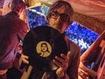 Pulp lead singer Jarvis Cocker plays a DJ set at Glastonbury Festival Site on June 25, 2017 in Glastonbury, England. Picture: Chris J Ratcliffe/Getty Images