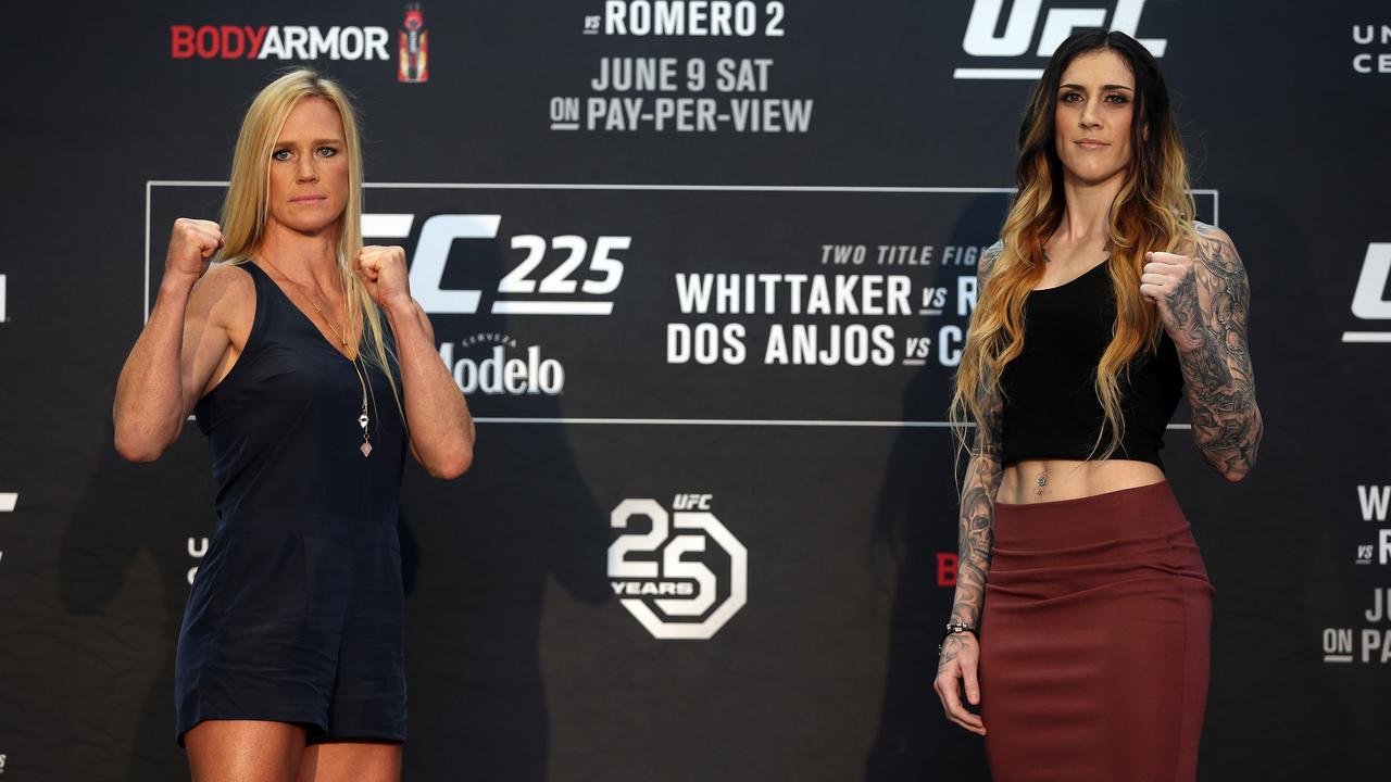 Holly Holm vs Megan Anderson.
