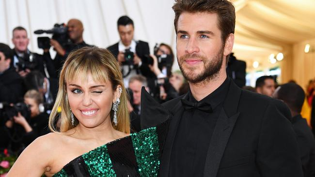 Hemsworth and Cyrus' split shocked fans. Picture: Dimitrios Kambouris/Getty Images