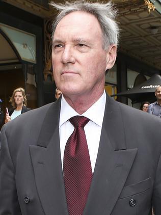 Hughes at his trial.