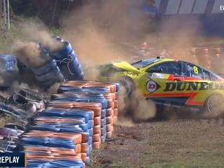 Supercars Darwin LIVE: Champ set for history attempt after freak double crash