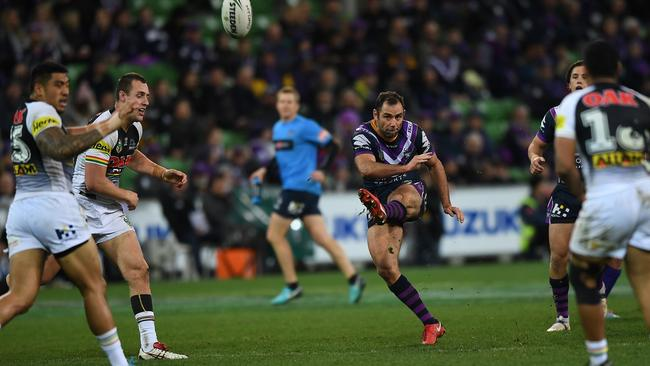 Cameron Smith's left foot. Daniel Day-Lewis will play the part in the film.