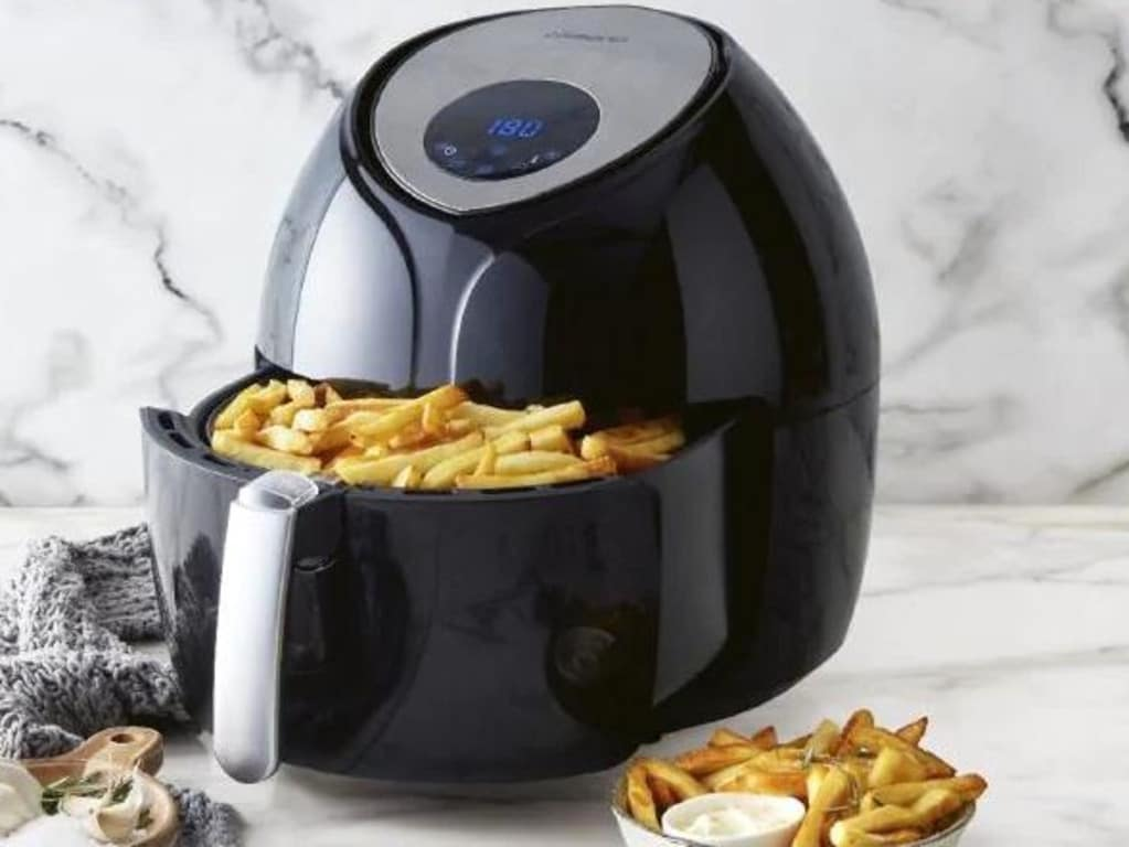 The German supermarket also had a hugely popular air fryer. Picture: Supplied