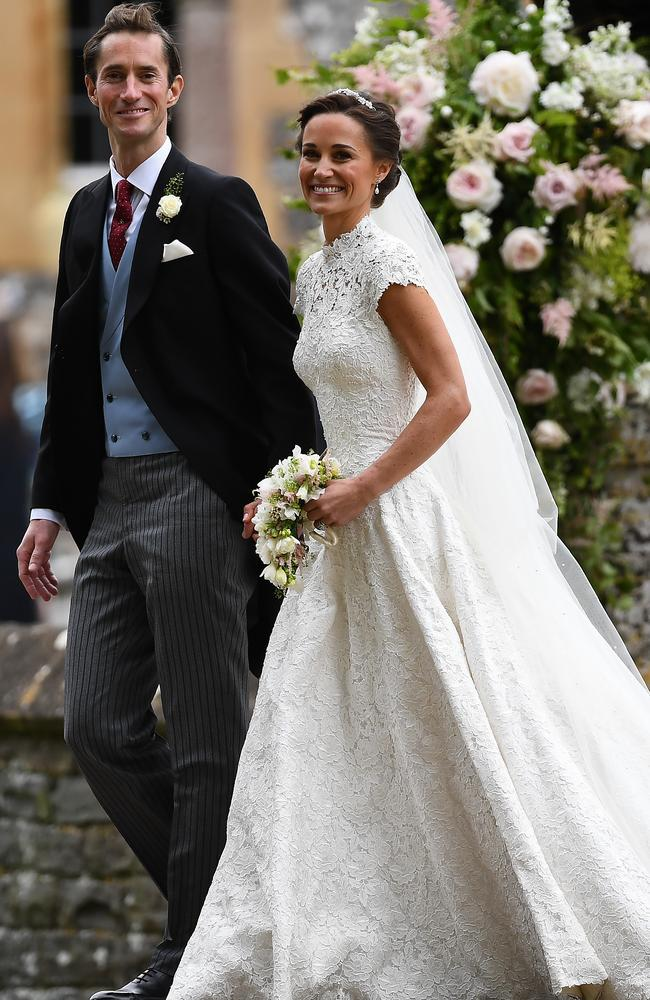 Pippa Middleton and James Matthew married last year. Picture: Justin Tallis — WPA Pool/Getty Images