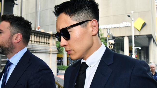 Yunxiang Gao arrives at court. Picture: AAP