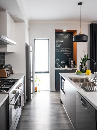 Sean and Kelly King built their home with Gallery Living. Photo: Nick Clayton.