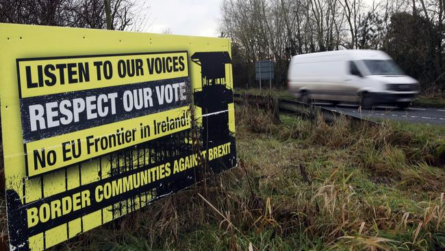 The Irish border is proving to be the biggest sticking point in Brexit negotiations. Picture: Peter Morrison