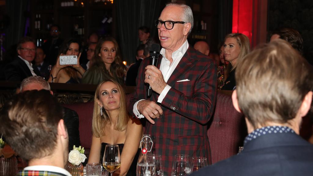 Tommy Hilfiger at the Tommy Hilfiger VIP Dinner during the 15th Zurich Film Festival. Picture: Getty Images