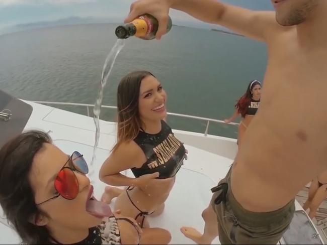 "A controversial ""Sex Island"" holiday in Colombia is going ahead this year. Source: YouTube"