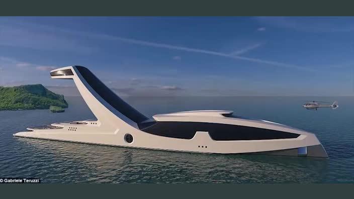 Shaddai superyacht concept