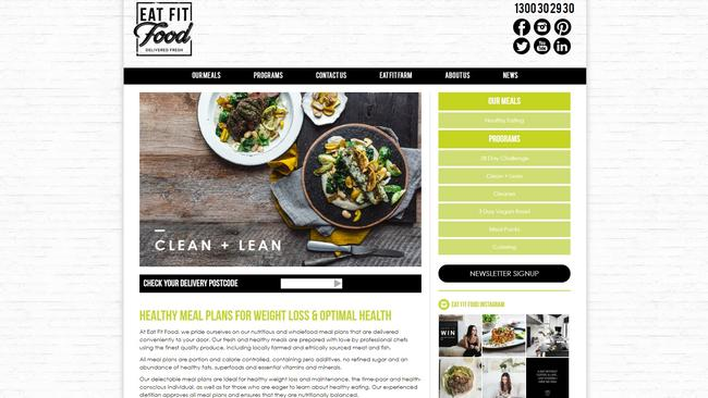 "Eat Fit Food claims there is ""clear confusion"" from customers."