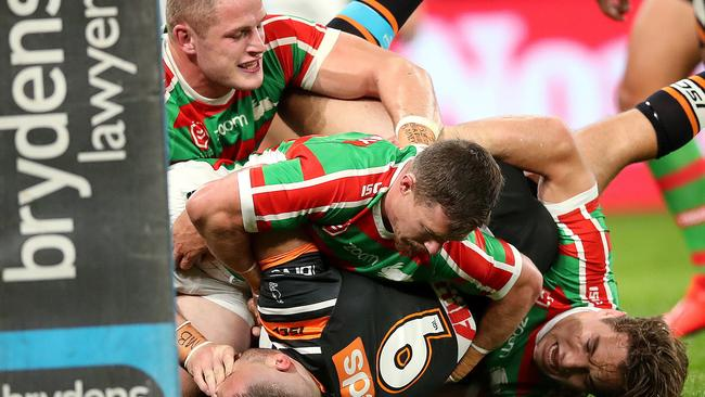 There have been calls to slap George Burgess with a hefty fine. Picture. Phil Hillyard