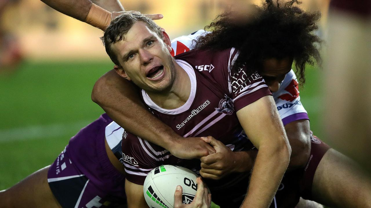 Tom Trbojevic's fitness is crucial to Manly's chances in 2020.