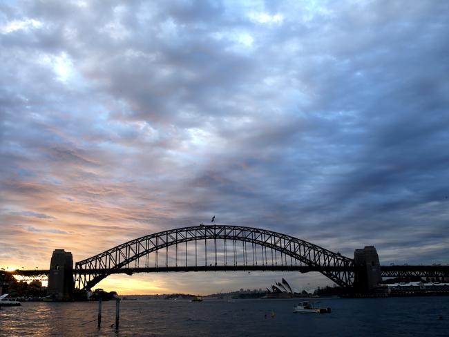 The Eastern Harbour City includes the Bridge and Opera House. Picture: John Grainger