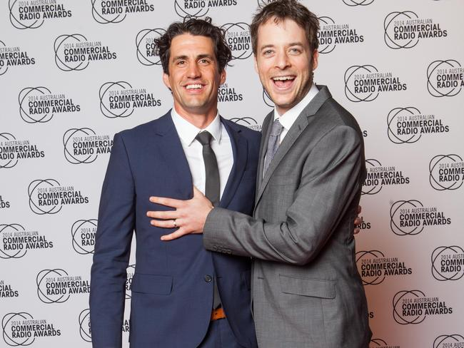 Close pals Hamish and Andy will go head to head for the Gold Logie again this year.