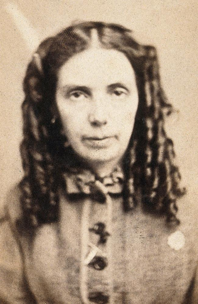 Emma Page, a patient at the West Riding Lunatic Asylum. Picture: Wellcome Collection