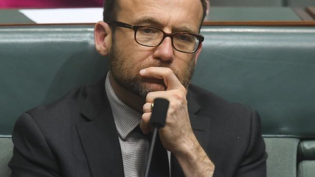 Greens MP Adam Bandt. Pic: AAP