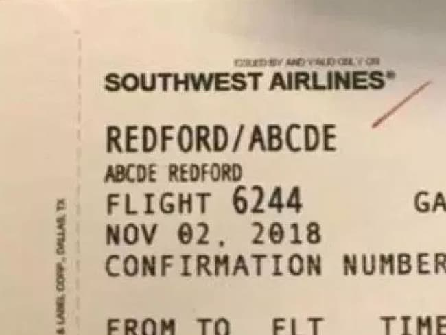 The airline worker allegedly found the girl's name amusing. Picture: ABC TV
