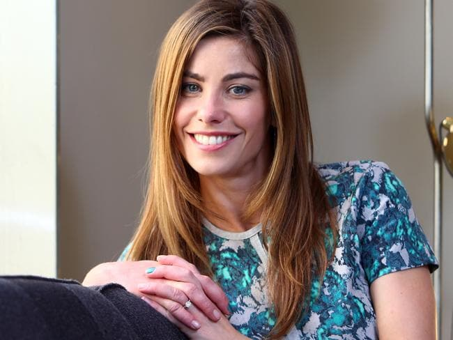 Actress Brooke Satchwell: Neighbours, Wonderland, Packed to the Rafters.