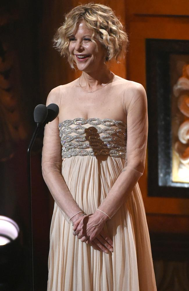 Meg Ryan presenting at the 2016 Tony Awards.