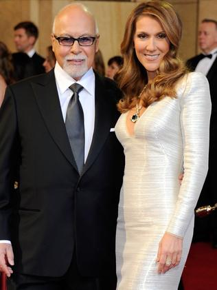 Celine and Rene in 2011. Picture: Ethan Miller/Getty