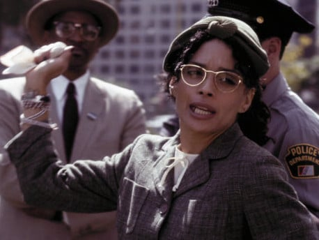 Lisa Bonet plays civil rights icon Rosa Parks in the Drunk History television series.