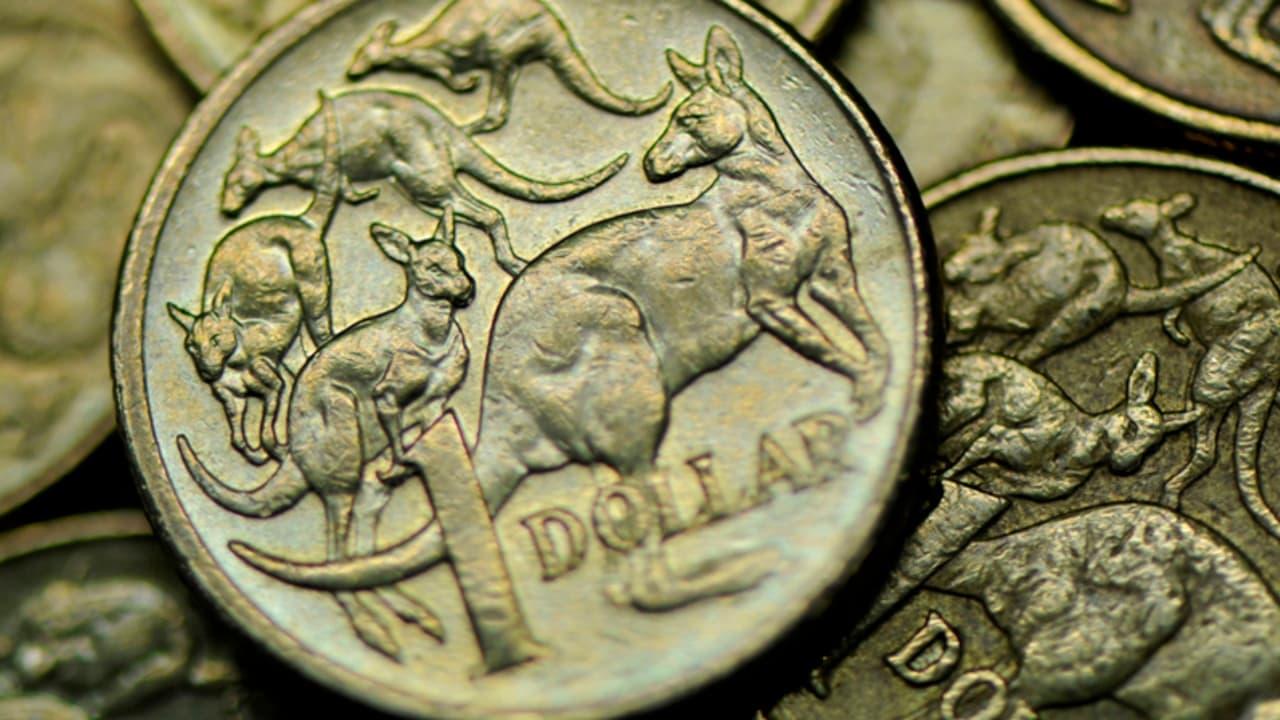 Australian dollar hits four-month high