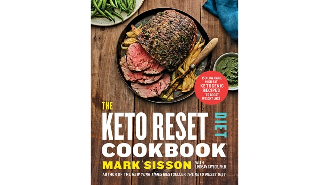 The Keto Reset Diet Cookbook by Mark Sisson published by Hardie Grant Books $29.99. Photographer: © Andrew Purcell.