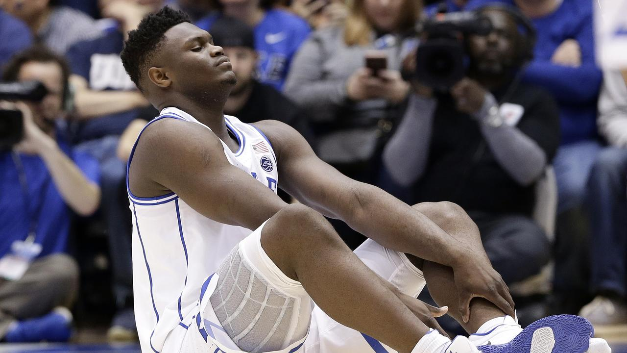 Nike's costly Zion Williamson mistake.