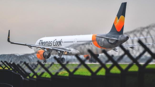 Approximately 150,000 British holiday-makers have been stranded abroad due to the Thomas Cook collapse. Picture: Anthony Devlin/Getty Images