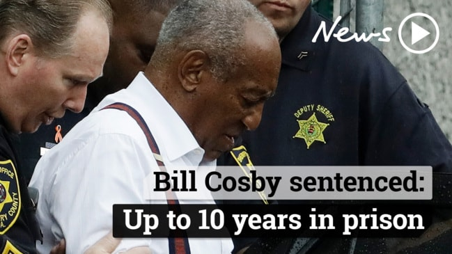 Bill Cosby sentenced up to 10 years for sexual assault