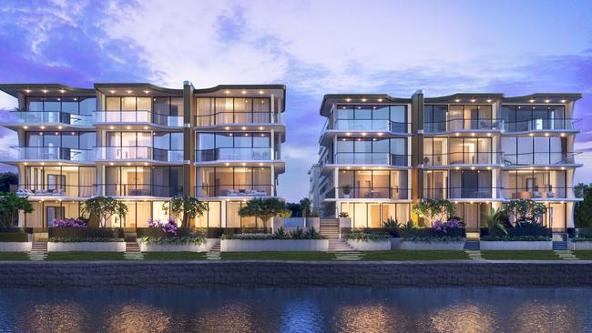 An artist's impression of One Bulimba Riverfront by Velocity Property Group.