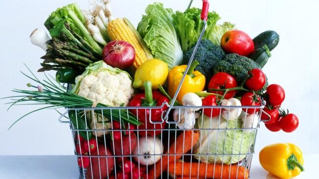 Load up on lots of veggies in season.