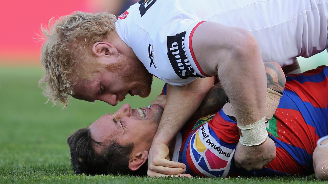 James Graham says the NRL is a brutal product that attracts a unique personality type.