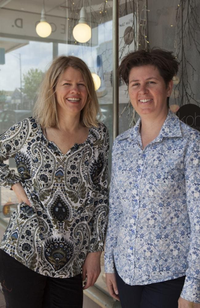 Tui Cordemans and Nyree Hibberd of Melbourne are the owners of the successful $3 million gifting business Koh Living.