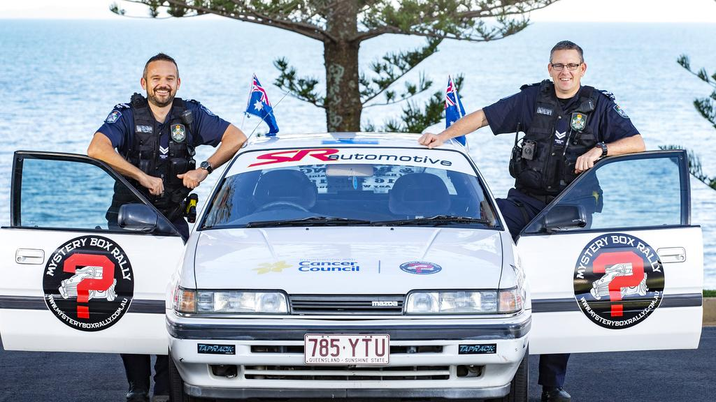 Mystery Box Rally: Two Redcliffe Police officers to take