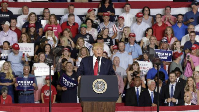 At a recent North Carolina rally for Donald Trump, his supporters chanted 'Send her back!' referring to Ilhan Omar.