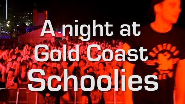 A night at Gold Coast Schoolies