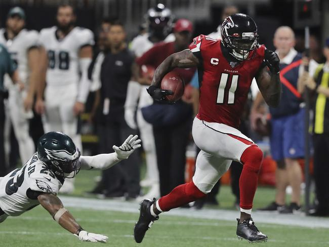 No one is stopping Julio Jones.